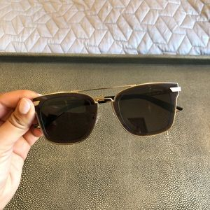 Police - Gold Rimmed Sunglasses